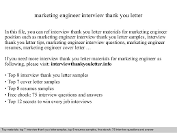 ideas of interview thank you letter sample engineer with letter