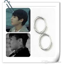 bts earrings 2018 hot korean bigbang gd bts silver earring nails stainless steel