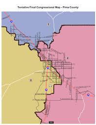 Arizona County Map Tentative Final Maps