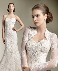 lace wedding dress with jacket lace bolero jackets weddings by lilly