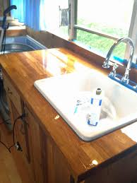 just right bus butcher block countertops