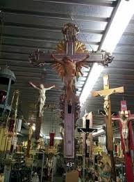wall crucifix for sale crucifix corpus used church items