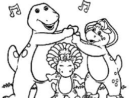 barney halloween coloring pages cartoon download free barney