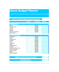 Monthly Budget Template Excel Excel Monthly Budget Template 18 Free Excel Document Downloads
