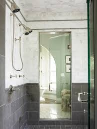 basement shower ideas bathroom traditional with floor tiles glass