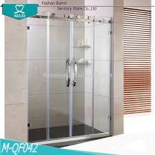 Clear Shower Door by Luxury Middle Open Clear Glass Shower Door Pm Qf042 Buy Luxury