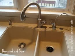 Blanco Silgranit II Undermount Kitchen Sink And Rados Faucet - Blanco silgranit kitchen sink