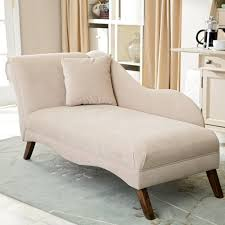 Upholstered Chaise Lounge Grandiose Beige Fabric Upholstery Chaise Lounge With Wooden Base
