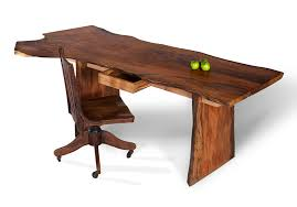 unique desk enhance the beauty of bedroom with wood desk designinyou