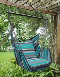 Brazil Hammock Chair Hammock Chair Xl Size In A Blue And Grey Colour Pattern