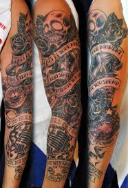 rose tattoo sleeve for men tattoo collection