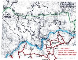Double Map Five Star Big South Fork Tennessee Horse Camps True West