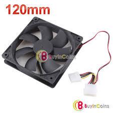 Desk Top Fans 120mm Internal Desktop Pc Fan Computer Case Cooling For Mother