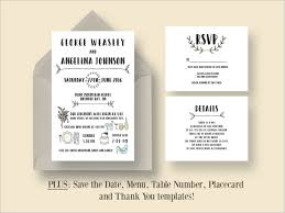 wedding invitations details card 48 sle wedding cards free premium templates