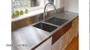 stainless steel countertops cost youtube