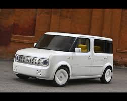 box car nissan denki cube electric car concept 2008