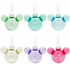 mickey mouse icon princess ornament set shopdisney