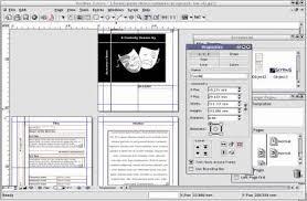 flyer designen programm scribus giga