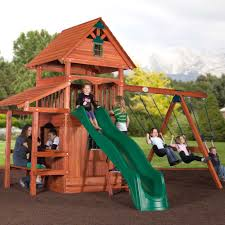 Metal Backyard Playsets Backyard Adventures Wooden Playsets Wooden Gym Sets American Sale