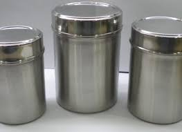 kitchen canisters stainless steel pantry kitchen storage containers with 4pc glass containers and