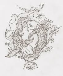 yin and yang koi fish by robinevafayembry on deviantart