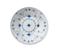 blue fluted plain royalcopenhagen