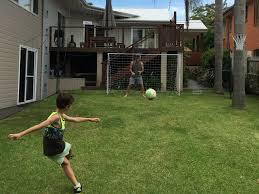 mp sports u2013 mamba soccer ball u2013 open goaaal soccer net