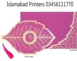 Pakistani Wedding Cards Design Wedding Cards Designs With Price U2013 Islamabad Printers Best