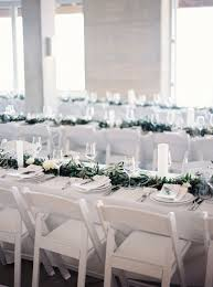 white wedding chairs best 25 white wedding receptions ideas on candlelight