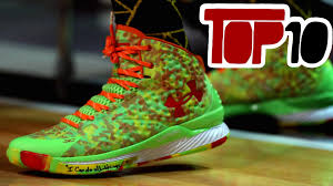 top 10 nba signature basketball shoes of 2015