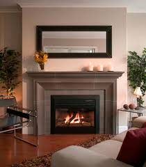 wood fireplace mantels u2014 office and bedroom