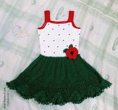 crochet green strawberry dress craft ideas