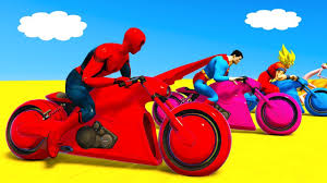 video for kids youtube kidsfuntv learn numbers and colors for babies cycles racing w superhero