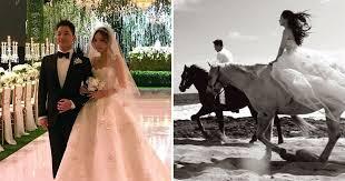 wedding dress taeyang taeyang and min hyo rin wedding bigbang gets married metro