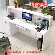 Beauty Salon Reception Desk Usd 115 29 Simple Fashion Right Angle Checkout Reception Desk