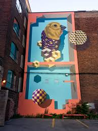 jerry rugg massive bird mural toronto street art graffiti jerry rugg aka birdo massive wall mural toronto street art graffiti