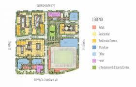 another look at warner center u0027s promenade 2035 urbanize la