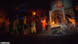 4k 2017 pirates of the caribbean ride newly refurbished low