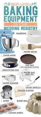 tie the knot wedding registry level up baking equipment the essential wedding registry checklist