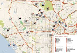 Los Angeles Rail Map by Large Los Angeles Maps For Free Download And Print High
