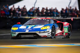 Ford Racing Flag Ford Gt Takes First Third Fourth At The 24 Hours Of Le Mans