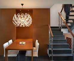 simple contemporary lighting fixtures dining room with home