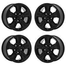 jeep wheels and tires chrome 17