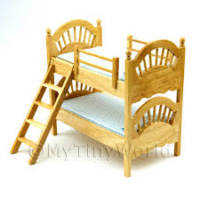 Dolls Bunk Beds Uk Furniture Value Dolls House Miniature Mytinyworld