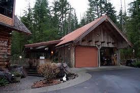log cabin garage plans old style rustic barns and garages log home garage by log home