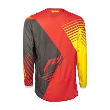 motocross jersey fly racing 2016 youth kinetic vector motocross jersey stretch off