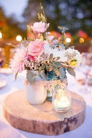 jar centerpieces for weddings 40 awesome shabby chic wedding decoration ideas for creative juice