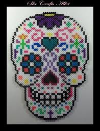 102 best perler beads skulls images on pinterest perler beads