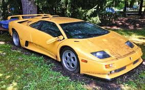 lamborghini replica vs real could it be real 1994 lamborghini se30 yard find