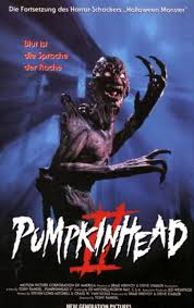 Seeking Horror Pumpkinhead Ii Blood Wings The 1994 Direct To Sequel To The